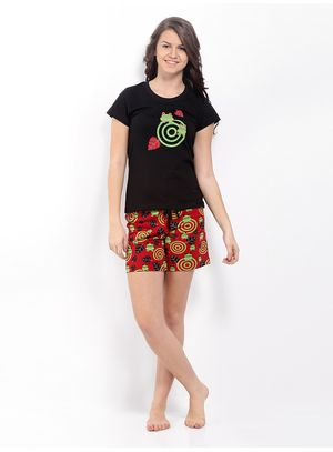 I Am A Freak -Women Tee and Shorts Set