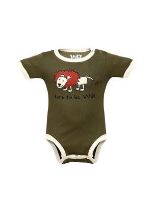 Born To Be Wild -Lazyone Kids Onesies