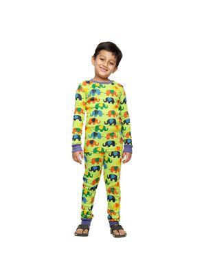 Elephant-Kids PJ Set