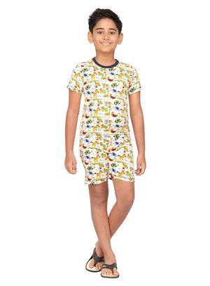 Animals-Kids Shorts Set