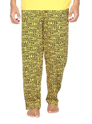 Stronger at night-Men Pyjama
