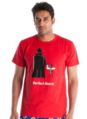 Perfect Match-Men Tee