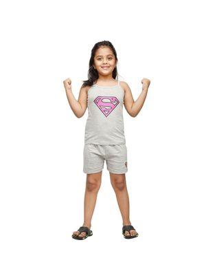 Super Girl-Superman PJ Set