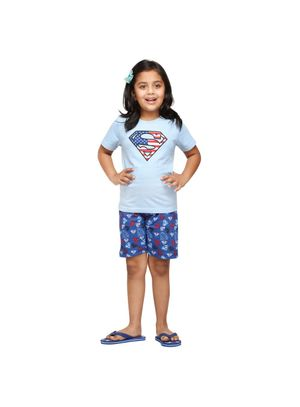 Super Mystic-Kids Shorts Set