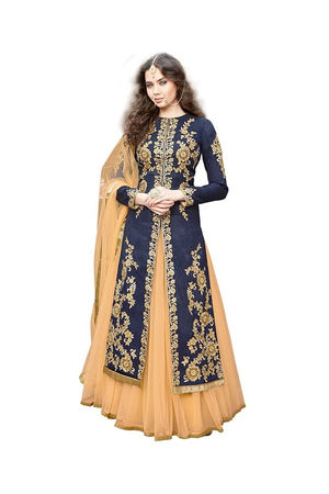 Blue Anarkali Suit 8