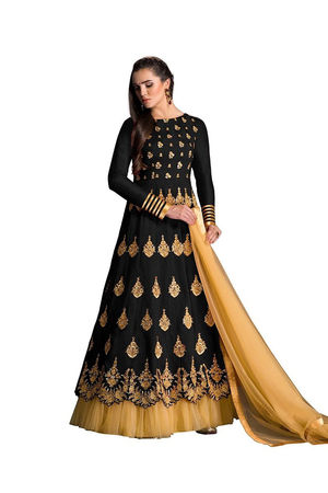 Black Long Anarkali Suit_20