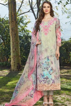 Casual Wear Straight Cotton Salwar Suit_18