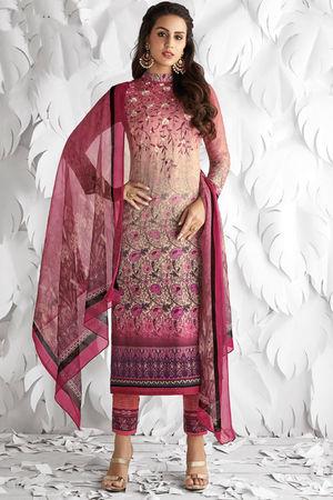 Casual Wear Straight Cotton Salwar Suit_20