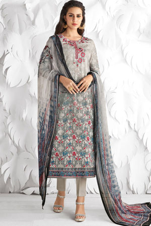 Casual Wear Straight Cotton Salwar Suit_24