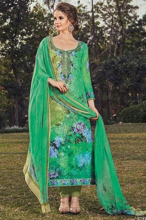 Casual Wear Straight Cotton Salwar Suit_39