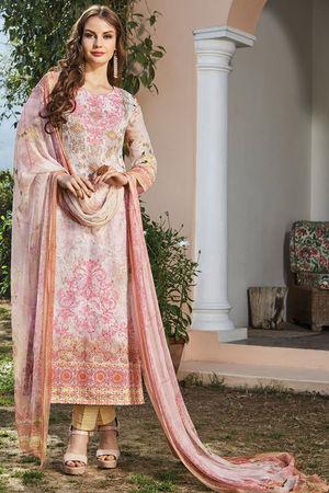 Casual Wear Straight Cotton Salwar Suit_4
