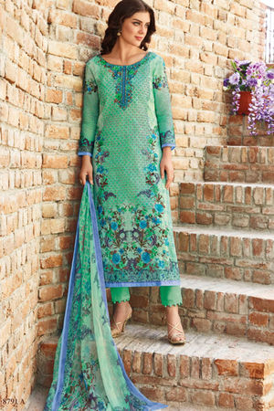 Casual Wear Straight Cotton Salwar Suit_49