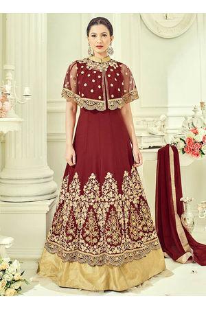 Elegant Gauhar Khan Anarkali Suit _11