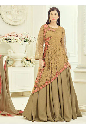 Elegant Gauhar Khan Anarkali Suit _7