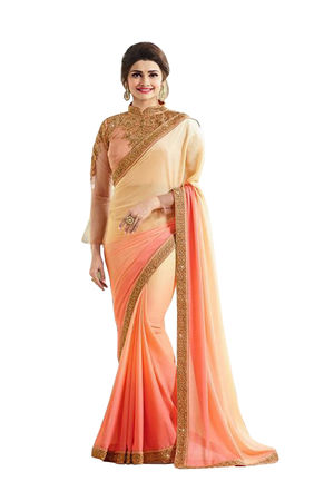 Prachi Desai Party Wear Saree_9