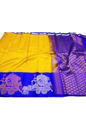 Dee's Alley  Kuppadam Pure Pattu Silk saree- 100% Pure Silk