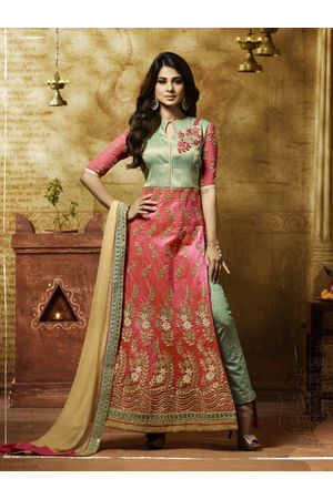Jeniffer Winget in Pant Style Salwar Suit