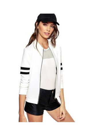 Sassy Sporty Bomber Jacket