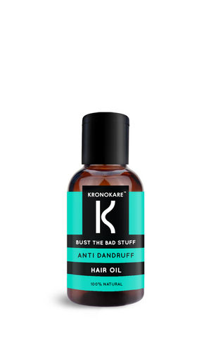 BUST THE BAD STUFF - ANTI DANDRUFF HAIR OIL - 30 ML