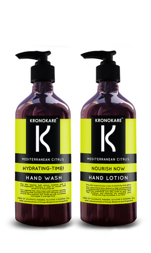 MEDITERRANEAN CITRUS HAND WASH AND HAND LOTION COMBO