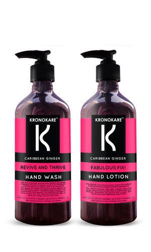 CARRIBEAN GINGER HAND WASH AND HAND LOTION COMBO