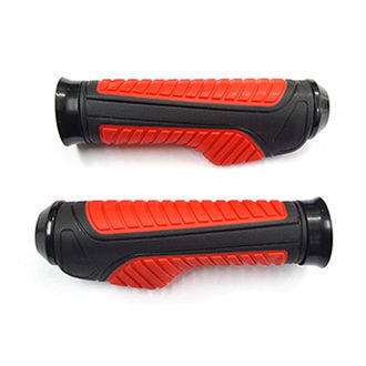 Speedy Riders Bike Moxi Handle Grip Set Of 2 Black & Red Color