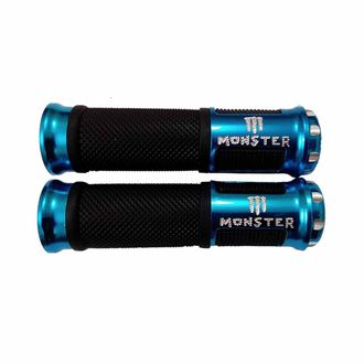 Speedy Riders Bike Monster Rubber Comfort Riding Soft Grip Cover Set of 2 Blue Color