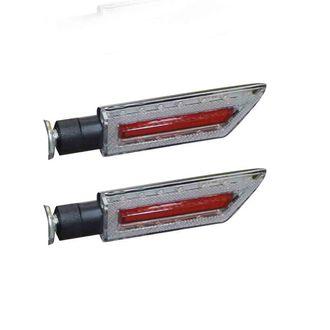 Speedy Riders 15LED Universal Motorcycle Bike LED Bulb Blinkers Turn Signal Indicator Set of 2