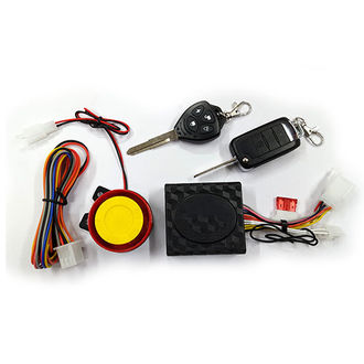 Speedy Riders Scooter / Bike Security Alarm System with With Flip Type Double Key Remote For All Bikes