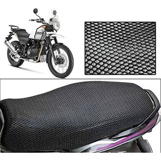 Speedyriders Bike Sweat Free Stretchable Net Seat Cover Black Color For All Bikes