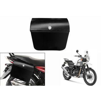 Speedy Riders Bike Side Steel Luggage Box Black For All Bikes