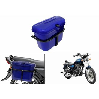 Speedy Riders Bike Side Luggage Box Blue For All Bikes