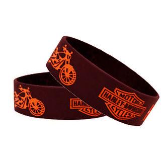 Speedy Riders Harley Davidson Wrist Band Black Color