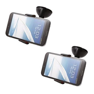 Speedy Riders V-Clip Car Mobile Holder Set of 2 For All Cars