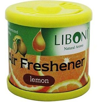 Speedy Riders Liboni Natural Aroma Gel Car Perfume And Air Freshener Lemon