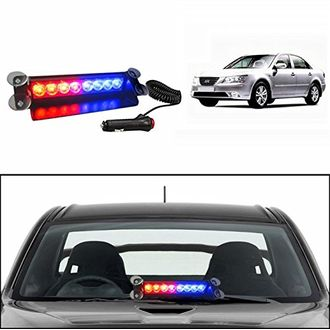 Speedy Riders Police Style Car LED Flashing Lights Red and Blue Color For All Cars