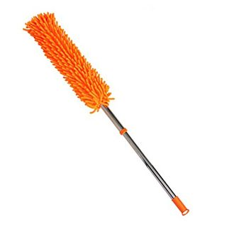 Speedy Riders Multicolor Microfiber Duster with Long Aluminium Handle For All Cars