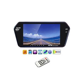 Speedy Riders 7 Inch Full HD LED Screen with Bluetooth and Touch Panel For All Cars