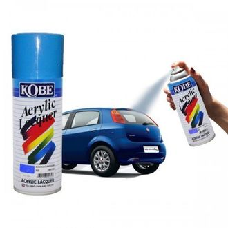 Kobe Car Touchup Spray Paint 400ml Blue Color