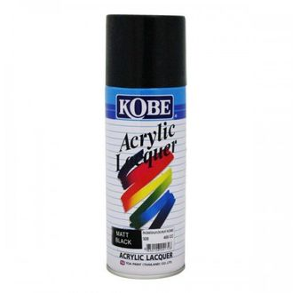 Kobe Car Touchup Spray Paint 400ml Black Color