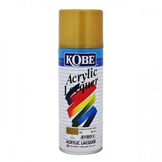Kobe Car Touchup Spray Paint 400ml Golden Color