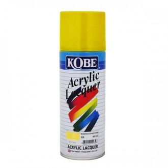 Kobe Car Touchup Spray Paint 400ml Yellow Color