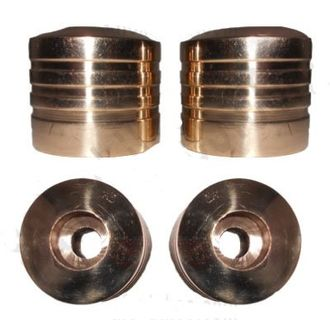 Speedy riders Brass Handle Bar End Weights For Royal Enfield