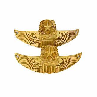 Speedy riders Brass Star Decal Monogram Motif Badge for Royal Enfield