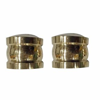 Speedy riders Brass Customized Set of Handle Bar Weight Matka For Royal Enfield