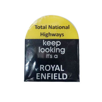 Customized  Highway Distance Boards Sticker for Royal Enfield