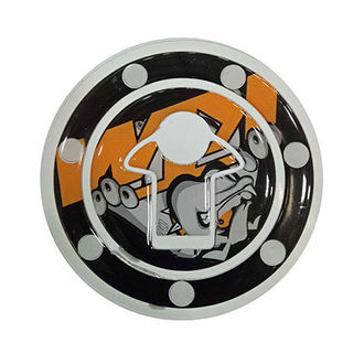 Customized Tank Cap Sticker / Fuel Cap Pad Protector For KTM