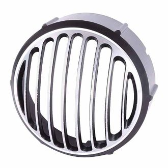 Speedy Riders Diamond Cut Head Light Grill For Royal Enfield
