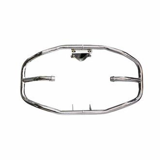 Speedy Riders Heavy Duty Diamond 8 Bent Safety Leg Guard Crash Guard Chrome For Royal Enfield