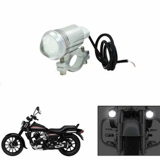 Speedy riders Single U1 Auxillary Fog Light / Work Light Bar Spot Beam Off Road Driving Lamp  for All Bikes